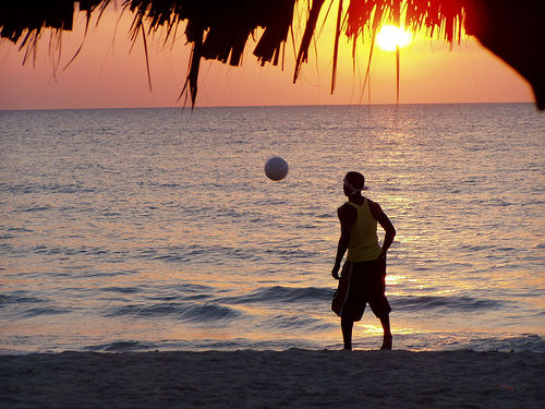 soccer plage negril